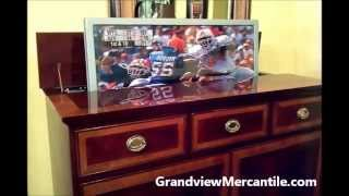 Hekman Media Cabinet With Flatscreen Tv Lift