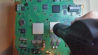 Reparacion Solucion Reflow Efectivo PS3 Luz Roja o Amarilla