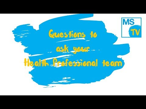Questions to ask your Health professional at your appointment