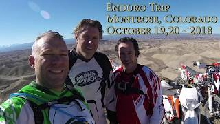 Trip Enduro Montrose Adobes, Colorado - October 19, 20 - 2018 thumbnail