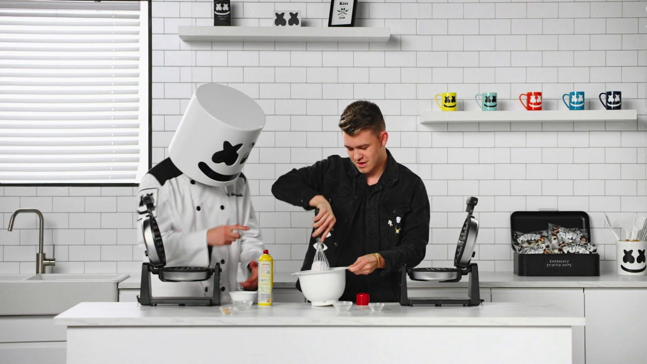 Belgian Bass Waffles w/ Eptic | Cooking with Marshmello