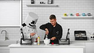 Belgian Bass Waffles w Eptic Cooking with Marshmello