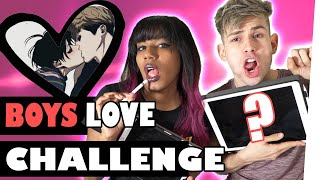 LETS DRAW Boys Love Challenge ft. MyriamMcFly | Kostas Kind