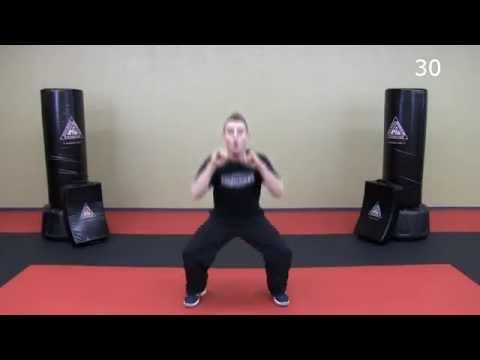 33 Minute Krav Maga Workout Lower Body HIIT + Krav Combatives