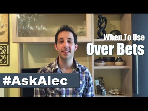 Poker Betting Strategy Explained: When to Use Overbet in No Limit Holdem [Ask Alec]