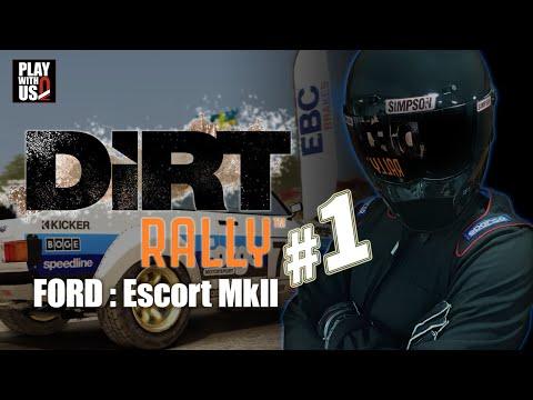 #1【ドライブ】兄者の「DiRT RALLY」【2BRO.】Escort MKII