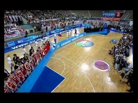 2011 EuroBasket Women - Final - Russia 59:42 Turkey - Rewarding Ceremony 1/2