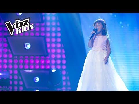 Hillary canta Alas - Audiciones a ciegas | La Voz Kids Colombia 2018
