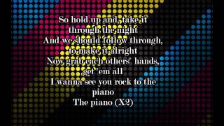 Ariana Grande - Piano lyrics