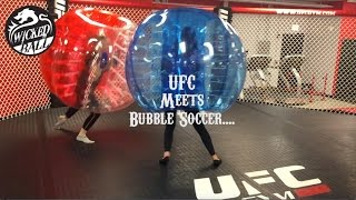 WickedBall Chicago Bubble Soccer Meets UFC!