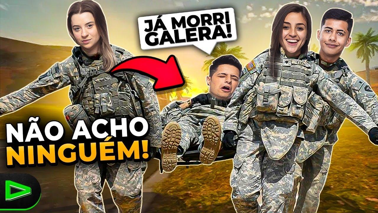 NEM CLICOU?! CARREGAMOS O CORINGA NESSA PARTIDA DE FREE FIRE!