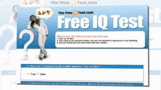 Free Aptitude Test The Best Free IQ Test Online !!!