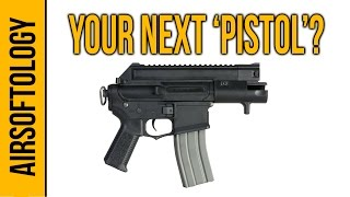 "Ares Amoeba CCP M4 AEG 'Pistol' - Could this AR be your next ""Sidearm""?  