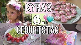 KINDERGEBURTSTAG 🎉 Kyra wird 6! Party planen #MamaVLOG