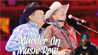 George Strait & Alan Jackson - Murder on Music Row (Country Reaction!!)