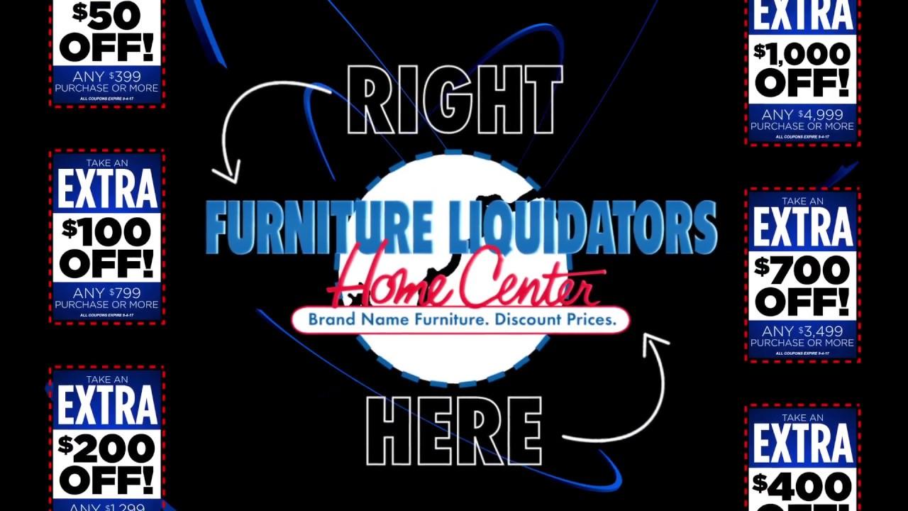 Furniture Liquidators Labor Day Coupon Event