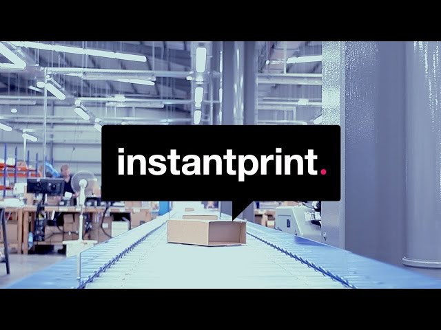 instantprint: surprising customers with giant business cards