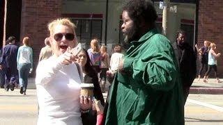 Generous Homeless Man Prank