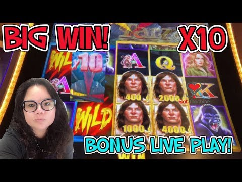 BIG WIN | TARZAN GRAND SLOT MACHINE | ISLE CAPRI CASINO BLACKHAWK COLORADO