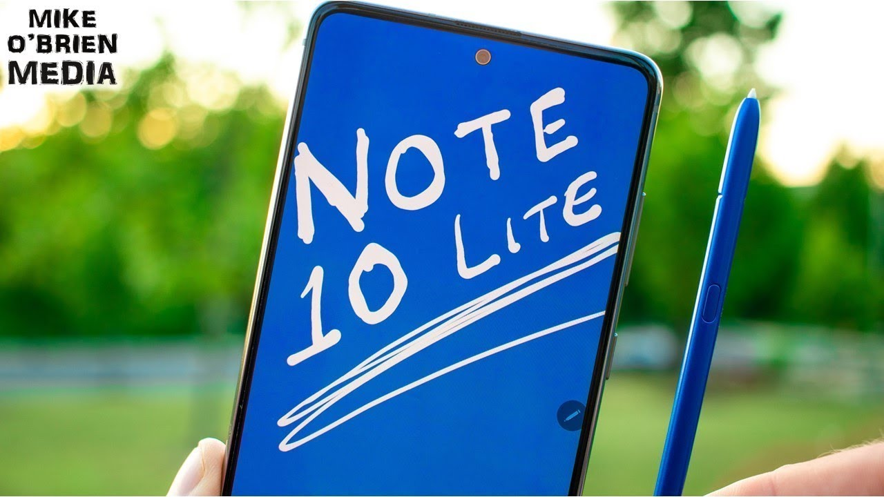 Galaxy Note 10 Lite - FULL REVIEW! [The Best Note For Most People?]