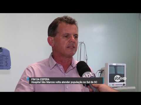 Hospital São Marcos volta a atender a população em Nova Veneza