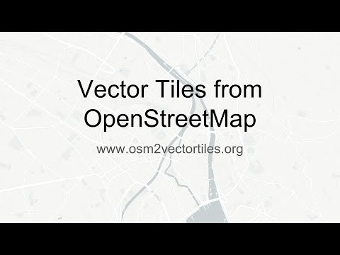 Vector Tiles from OpenStreetMap