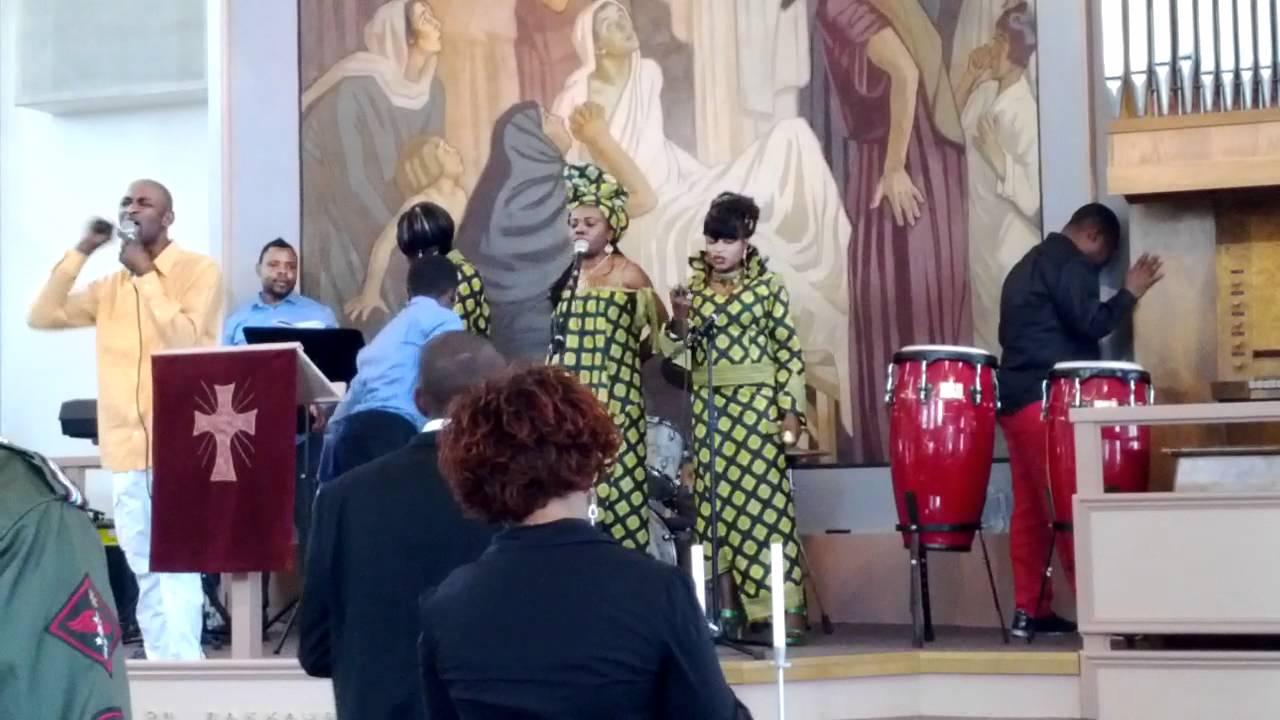Негритянская церковь видео
