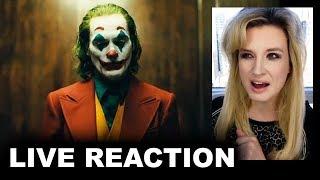 Joker Trailer REACTION 2019