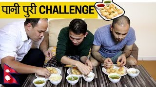 Most spicy PaniPuri Challenge || Nepali Comedy