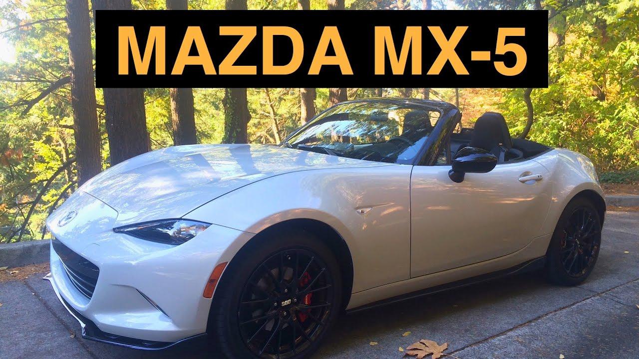 2016 Mazda MX5 Miata Review  Best Drivers Car Under 50K  YouTube
