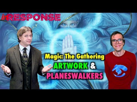 In Response: Homogeneous MTG art and the role of the Planeswalker - A Magic: The Gathering Debate