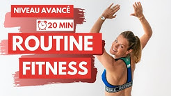 Routine FITNESS Avancé 💥 20 MIN FULL BODY