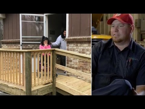Bus Driver Builds Ramp For 10-Year-Old In Wheelchair Struggling To Leave Home