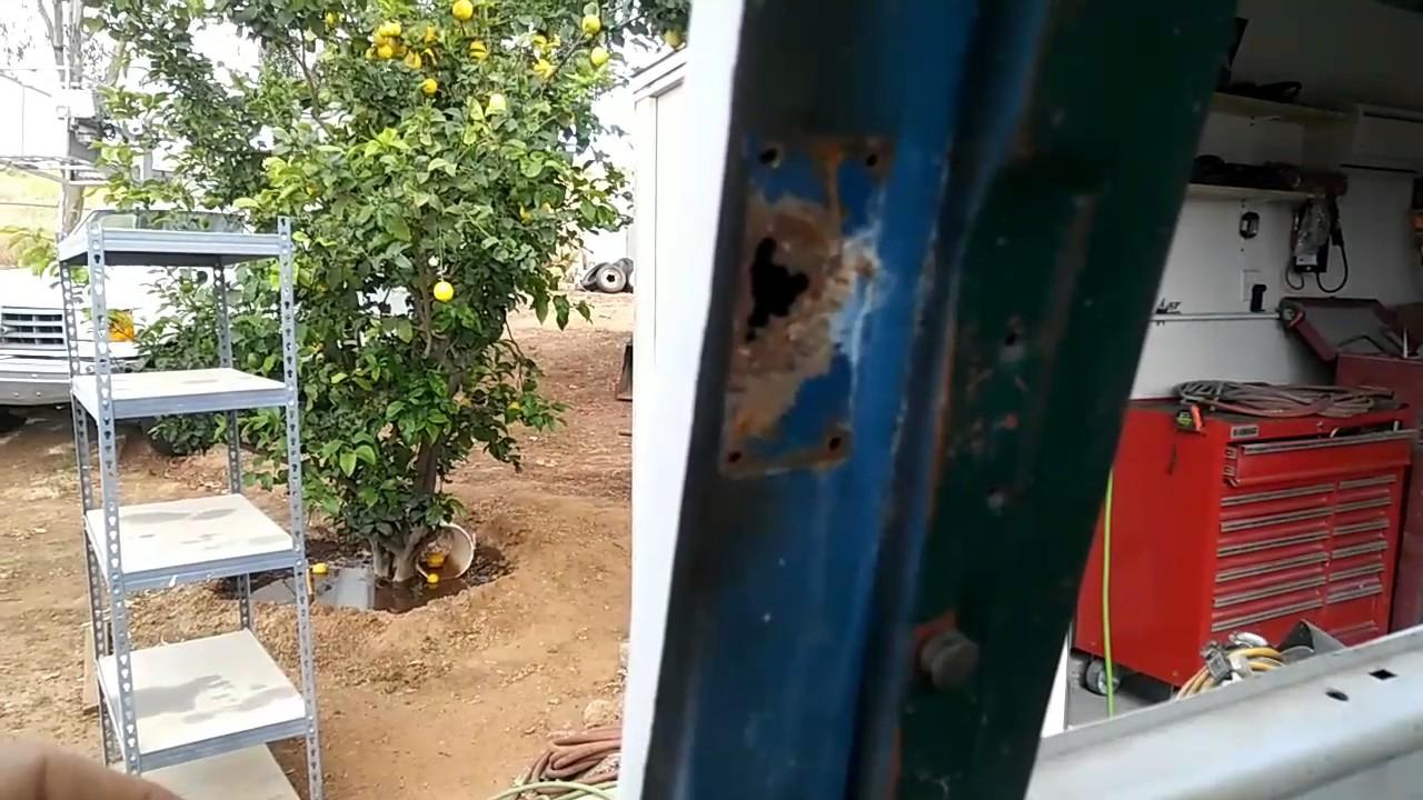 vw bus window latch repair rust repair or broken & vw bus window latch repair rust repair or broken - YouTube