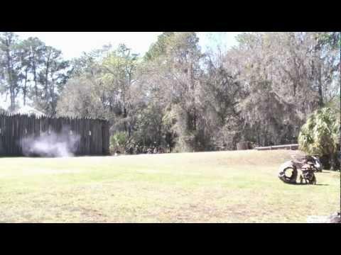 Seminole War Reenactment at Fort Foster