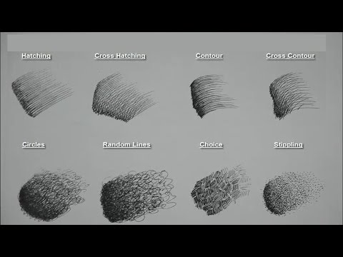 8-basic-pen/pencil-strokes- -beginners-introduction