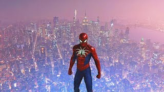 Spider-Man PS4 - Spider Armor MK IV Suit Immunity Combat & Free Roam Gameplay