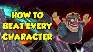How to BEAT *EVERY* CHARACTER in Smash Ultimate!