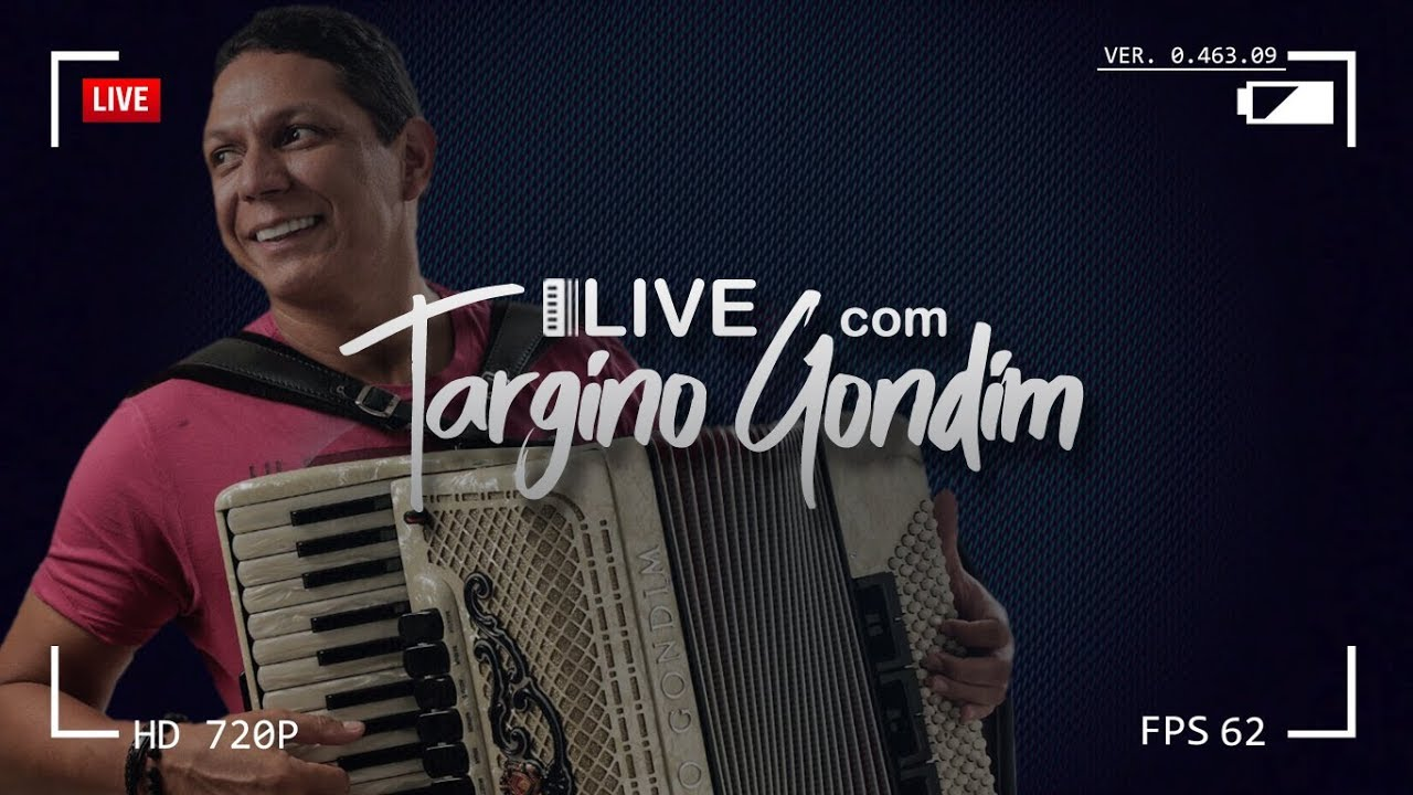 Live com Targino Gondim #01 - YouTube