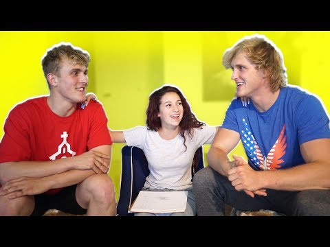 Jake & Logan Paul Therapy Session (Hosted by Danielle Bregol