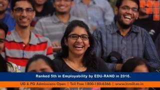 lnmiit jaipur admissions 2017   ug pg programmes