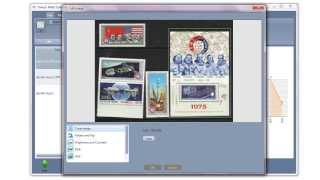 Stamp organizing software for Mac and Windows