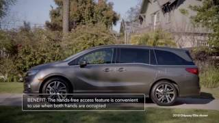 2018 Honda Odyssey Perfect family minivan - Full Review of Interior and Features