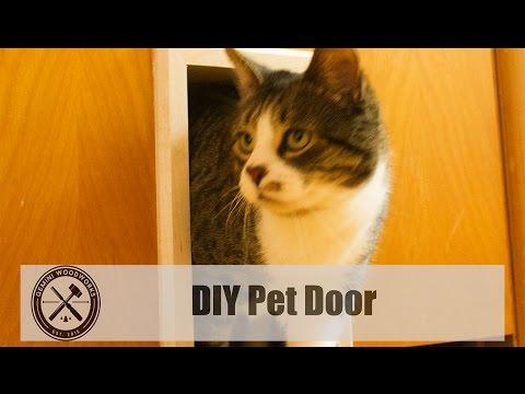 DIY Pet Door