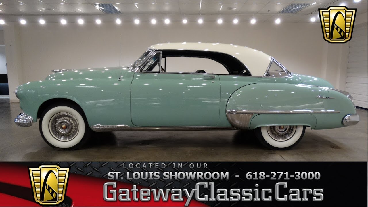1949 Oldsmobile Holiday 98 Hardtop Gateway Classic Cars St Louis Chrysler Town And Country Hubcaps 6759 Youtube