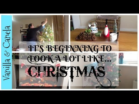 Decorate with me & Christmas Decs House Tour... For now