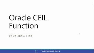 Oracle CEIL Function