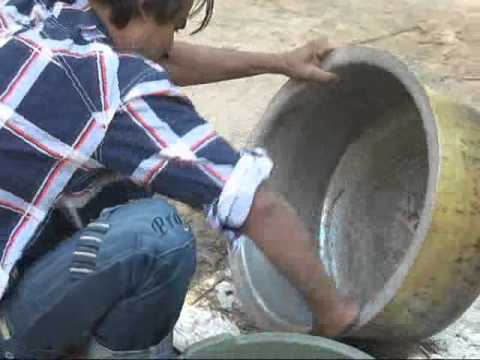 Process of Lining Cooking Vessels with Tin
