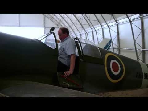 Supermarine Spitfire Replica at Enstone Flying Club