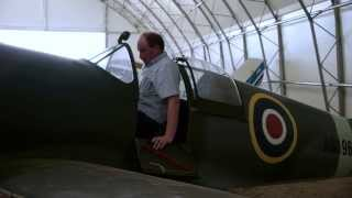 Supermarine Spitfire Replica at Enstone Flying Club